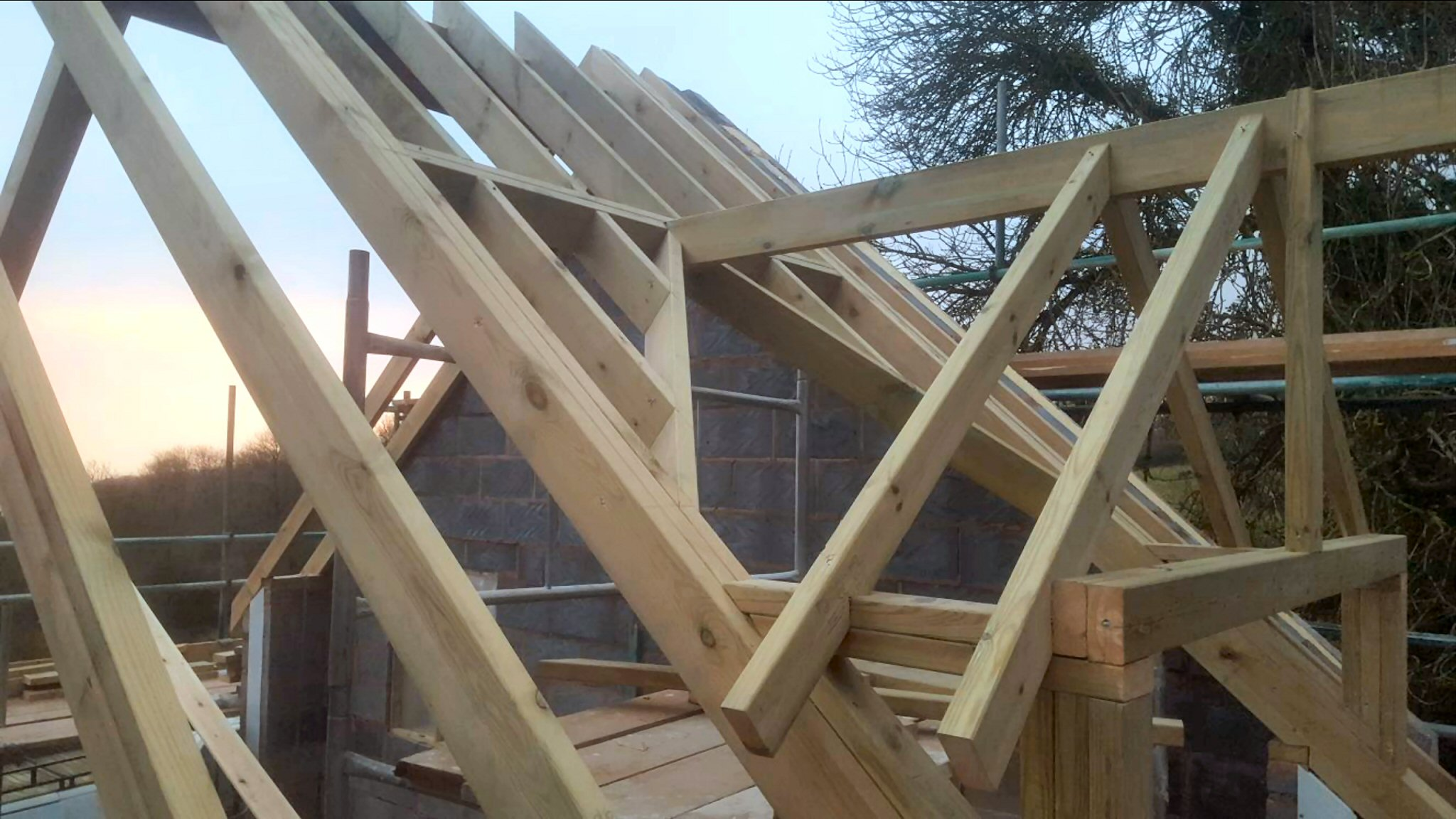 Joinery Repairs To Roof Battens And Roof Rafters