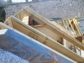 Roof on extension in Blagdon Hill, Taunton