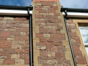 Guttering and chimney repair