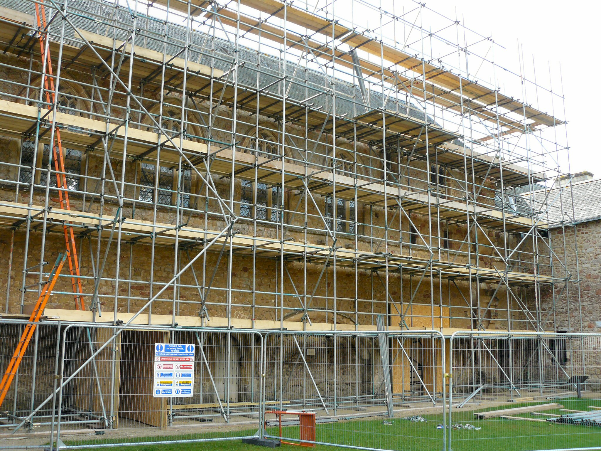 Scaffolding Abacus Roofing