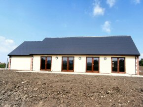New roof on community hall
