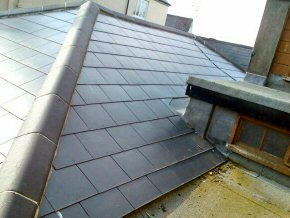 New Library Roof in Wiveliscombe