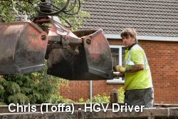 Chris (Toffa) - HGV Driver